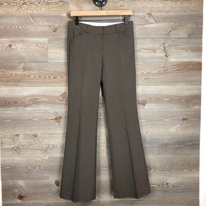Theory Max C Tailor wool stretch brown pant 2